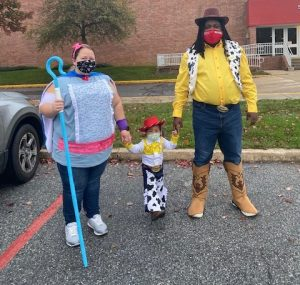 Aevidum Adviser Matthew Shervington dresses as part of the Toy Story cast on October Fun Night. Photo courtesy of Kellin McCullough