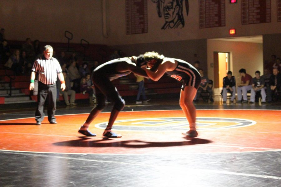 A wrestling tournament held in SHS.