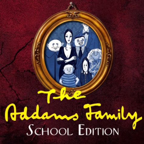 """The Addams Family"" Preview Poster. Image via: @SHSTheatre via Twitter"