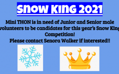 Mini-THON Searches for Snow King Contestants