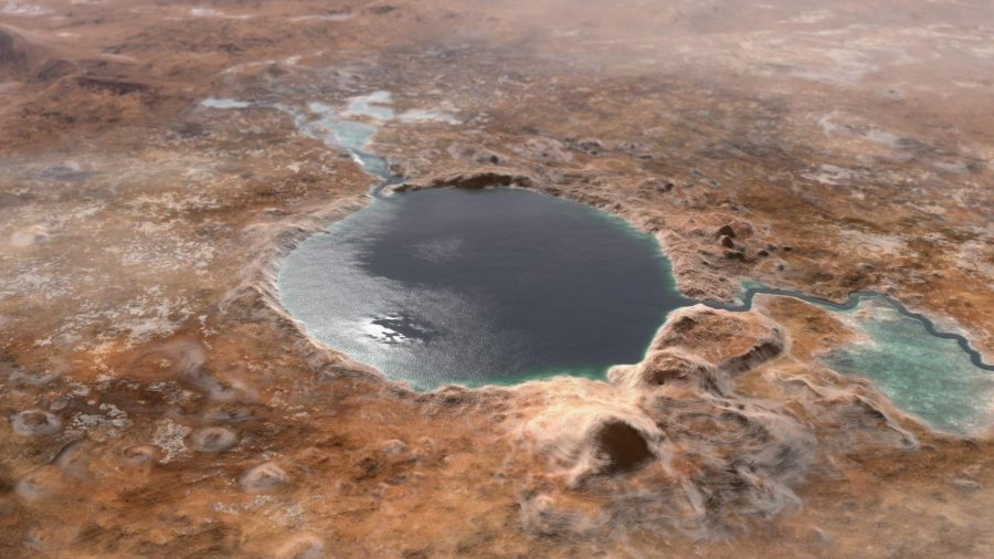 The Jezero Crater was a lake on Mars' Ancient Past.