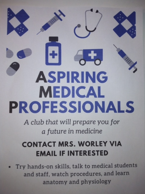 For more information, contact Mrs. Worley via email. Image Courtesy of: Alexa Viands