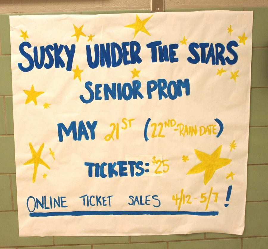Tickets are currently being sold for twenty-five dollars; the sale will conclude on May 7. Photograph by Grace Hartenstein