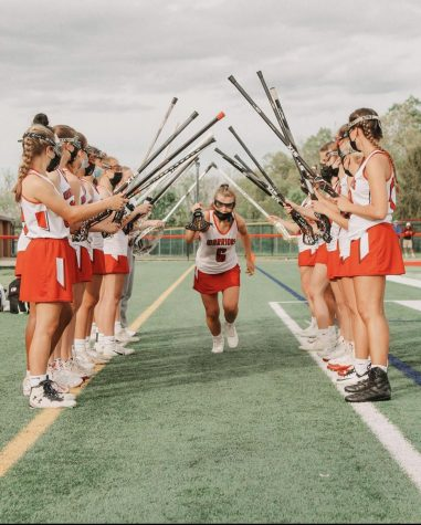 Girls Lacrosse Slashes through Competition