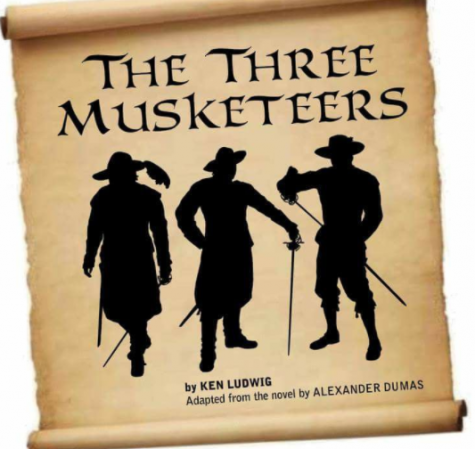 Stage Crew Preps for Three Musketeers