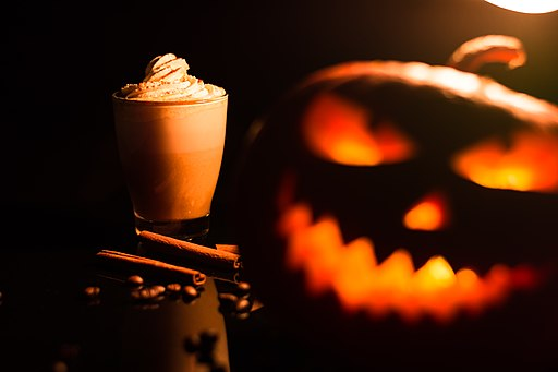 Halloween season means pumpkin spice everything. Image by Theo Crazzolara, CC BY 2.0 , via Wikimedia Commons