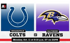 Ravens Comeback Against the Indianapolis Colts